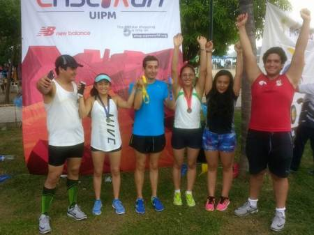 Delegación hidalguense de pentatlón moderno obtiene cinco medallas en el segundo Lasser Run City2