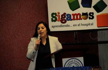 """Docentes presentan informe de actividades del programa """"Sigamos aprendiendo… en el hospital""""2"""