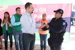Durante Jornada de Seguridad Pública, entrega Mauricio Delmar equipamiento a policía municipal de Zempoala 1
