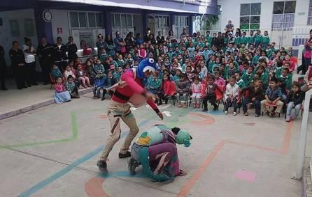 """""""Pirinola"""" de la UAEH, con más de 100 presentaciones3"""