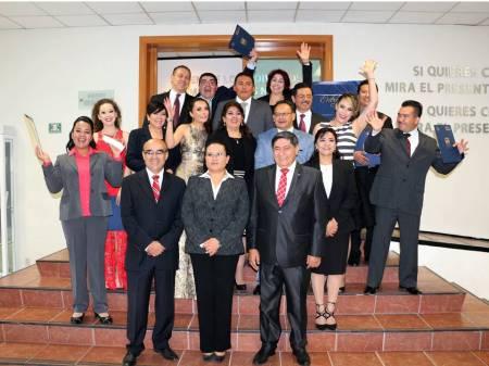 Egresa tercera generación de Maestría en Derecho Civil y Procesal Civil