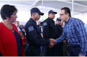 Entrega Omar Fayad inversión histórica para seguridad pública en el Altiplano