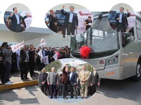 Entrega UAEH cinco nuevas unidades de Garzabus7