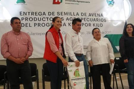 Entregan apoyo Kilo x Kilo a 136 productores agropecuarios de Santiago Tulantepec 1.jpg