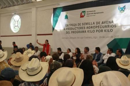 Entregan apoyo Kilo x Kilo a 136 productores agropecuarios de Santiago Tulantepec 2.jpg