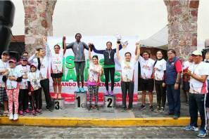 """Exitosa respuesta en la segunda fecha del serial atlético """"Dejando huella en Hidalgo"""""""