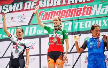 Hidalgo se impone en el Campeonato Nacional de Ciclismo de Montaña1