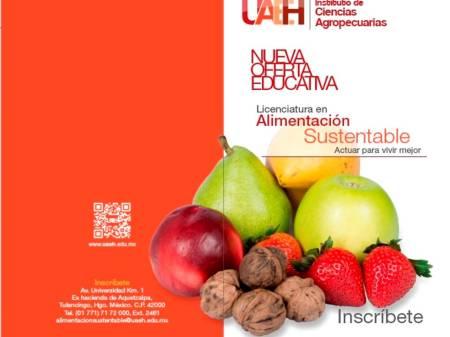 ICAp ofrece la licenciatura en Alimentación Sustentable1