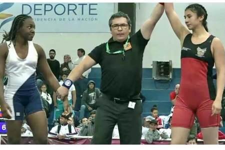 La hidalguense Gabriela Canales obtiene bronce en el Campeonato de Luchas Asociadas de Cadetes2