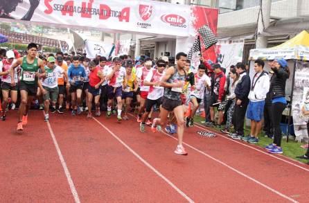 Más de mil participantes en la segunda carrera atlética CMIC