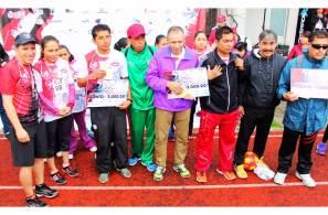Más de mil participantes en la segunda carrera atlética CMIC3