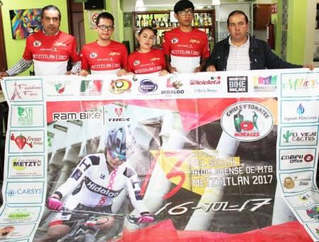 Metztitlán recibe la 13 fecha del Serial Hidalguense de MTB .jpg