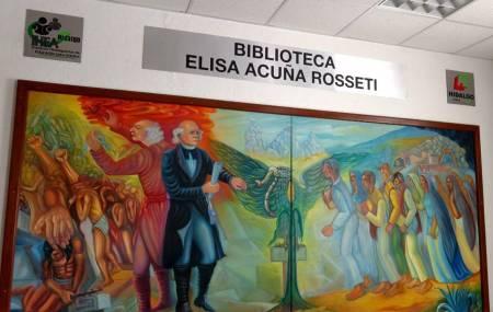 Nombran  biblioteca del IHEA Elisa Acuña Rosseti, en memoria de destacada hidalguense1.jpg