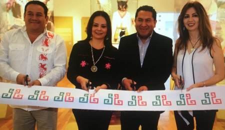 Nuvia Mayorga, Titular de la CDI inaugura la exposición Norte Infinito Pueblos Indígenas en Movimiento