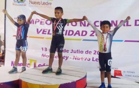 Obed Ramirez conquista plata y bronce en Campeonato Nacional de Velocidad