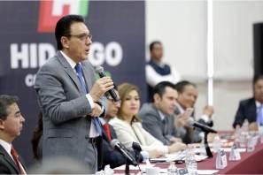 Omar Fayad cumple, instala consejo estatal de mejora regulatoria en Hidalgo