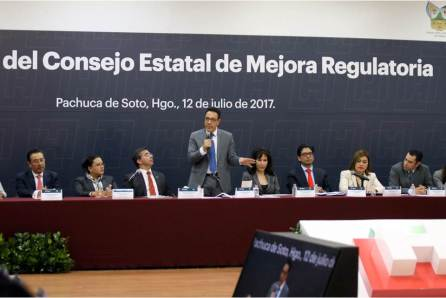 Omar Fayad cumple, instala consejo estatal de mejora regulatoria en Hidalgo4