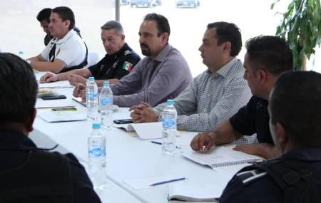 Policías estatales, municipales e investigadores refuerzan estrategias de seguridad en Pachuca