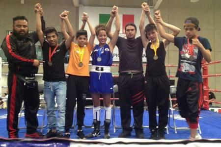 Pugilistas conquistan 12 medallas en el Festival Olímpico de Boxeo 1.jpg