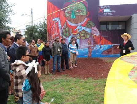 Raul Camacho Inaugura el 4to Encuentro Internacional de Muralismo y Arte Público en Mineral de la Reforma 2