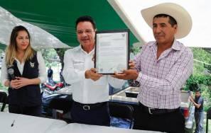 Reconoce Semarnath voluntad de comuneros de Tepetitlán para cumplir con la normativa ambiental1