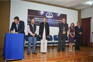 Rinden protesta integrantes de Comité Municipal de Población en Mineral de la Reforma