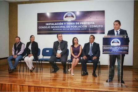 Rinden protesta integrantes de Comité Municipal de Población en Mineral de la Reforma4