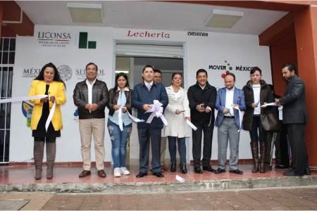 Sánchez Olvera inauguró lechería en Mineral de la Reforma, beneficiando a 121 familias2