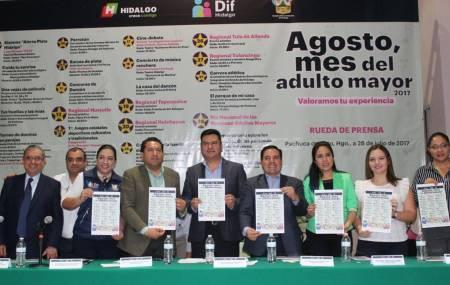 Sedeso presenta cartel de actividades por mes de las y los adultos mayores2