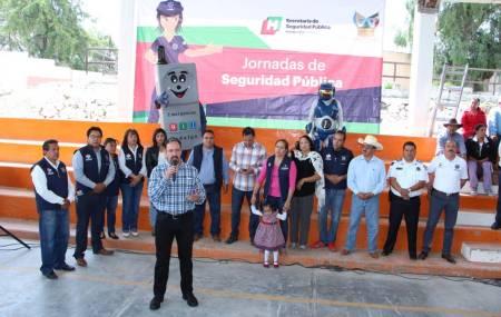 Seguridad Pública de Hidalgo busca cercanía policía-ciudadano