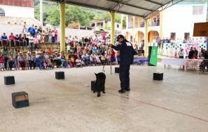 Seguridad Pública de Hidalgo genera acercamiento social en comunidad de Molango1