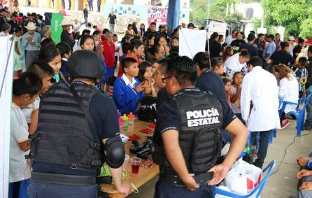 Seguridad Pública de Hidalgo genera acercamiento social en comunidad de Molango3