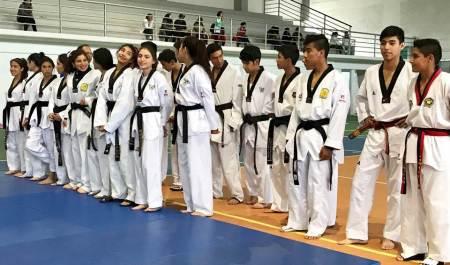 Taekwondoines argentinos visitan Hidalgo2