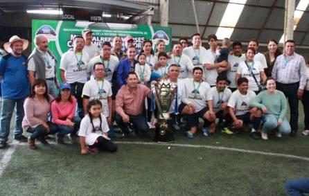"""Torneo Intergubernamental de futbol rápido """"Mineralreformenses Cambiando La Historia""""3"""
