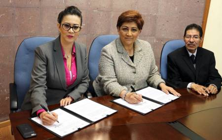 TSJEH y STPSH firman convenio para la transición de la justicia laboral2