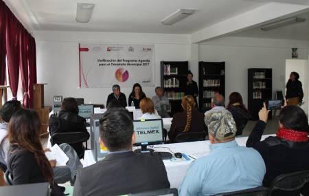 Verifican el Programa Agenda para el Desarrollo Municipal del Ayuntamiento de Tizayuca2.jpg