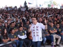 Acto de justicia social, entrega de las instalaciones de la Universidad Intercultural de Hidalgo, Omar Fayad4