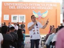 Acto de justicia social, entrega de las instalaciones de la Universidad Intercultural de Hidalgo, Omar Fayad5