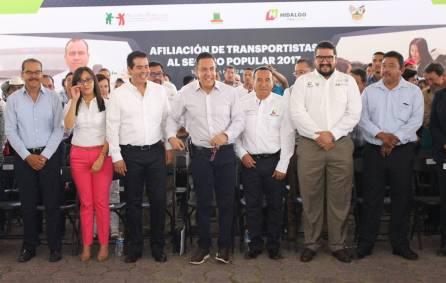 Arranca en Tula de Allende jornadas de afiliación y reafiliación a transportistas de Hidalgo1