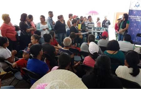 """CAAMTH Continúa apoyando a la población con el Programa """"Agua Segura""""2.jpg"""