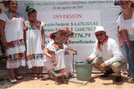 CDI entrega sistema de agua potable en Quintana Roo, para beneficio de más de 343 familias indígenas2.jpg