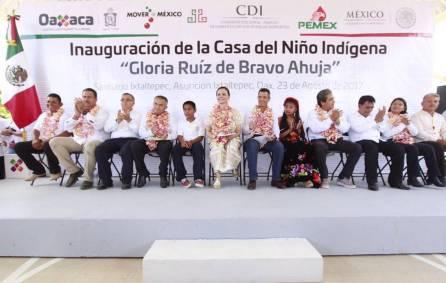 CDI inaugura Casa del Niño Indígena que beneficiará a niñas, niños y jóvenes en Oaxaca2