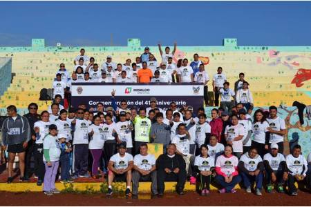 Celebran 41 aniversario de Policía Industrial Bancaria con actividades deportivas