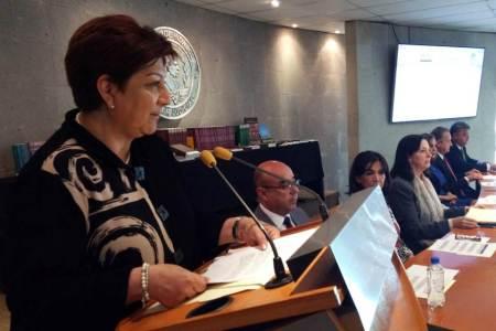 Constitución, base de la labor jurisdiccional, magistrada Blanca Sánchez