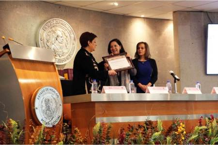Constitución, base de la labor jurisdiccional, magistrada Blanca Sánchez2
