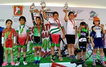 Delegación de ciclismo infantil de Hidalgo listo para entrar en acción en el Campeonato Nacional de Ruta .jpg