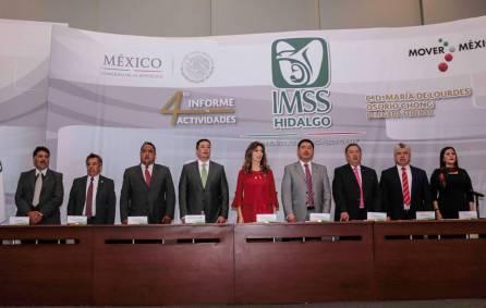 Delegación del IMSS hidalgo presentó su cuarto Informe de Actividades 1