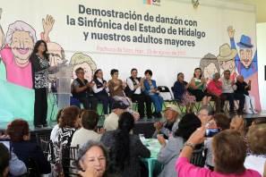 DIF Hidalgo festeja a los adultos mayores