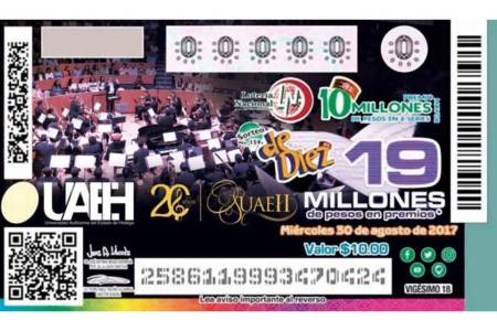 Domingo 30 de agosto, sorteo del aniversario de OSUAEH2