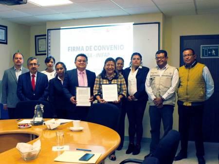 El ITESA firma convenio de colaboración con el INIFAP